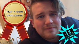 Ben Phillips | Flip a coin - exploding mouth - challenge
