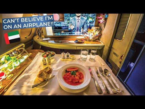 TRIPREPORT | Emirates (Insane FIRST CLASS UPGRADE!!!) | Airbus A380 | Colombo - Dubai