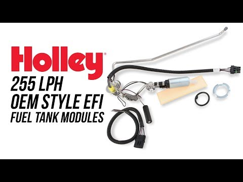 Holley 255 LPH OEM Style EFI Fuel Tank Modules
