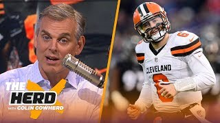 Colin Cowherd: Expectations will doom Browns, Steelers will ultimately win division | NFL | THE HERD