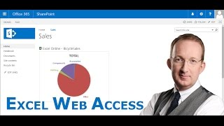Add a Live Excel Chart to SharePoint with the Excel Web Access Web Part