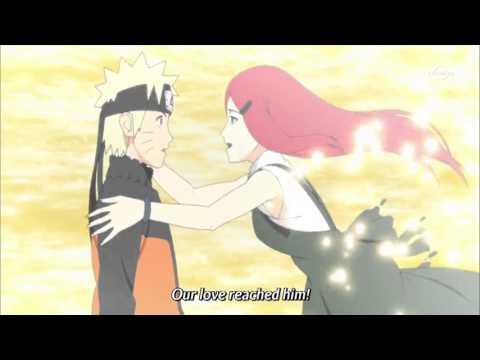 Kushina Hugs Naruto