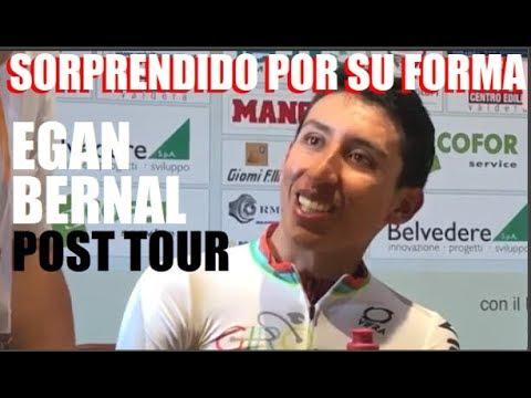 EGAN Bernal SORPRENDIDO por SU FORMA Despues del TOUR Previa Memorial PANTANI