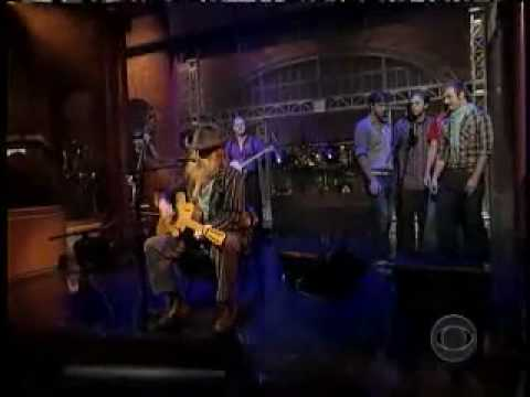 Baby Gramps on Letterman