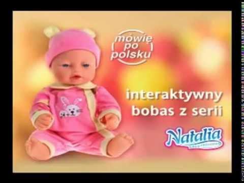 Artyk Lalka Natalia z Misiem | zabawkiTV