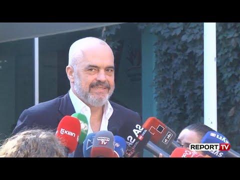 Report TV - Rama: Do të flas me Presidentin e Francës për negociatat!
