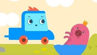 Мультфильм про машинки -  Грузовичок Пик -Маленькая свинка + Муравей-строитель - развивающий мультик