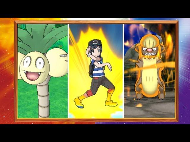 ¡Reveladas formas de Alola y movimientos Z para Pokémon Sol y Pokémon Luna!