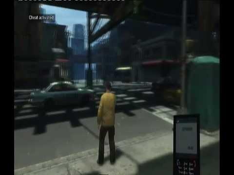 Grand Theft Auto 4 Cheats Spawn SuperGT, Comet и Turismo