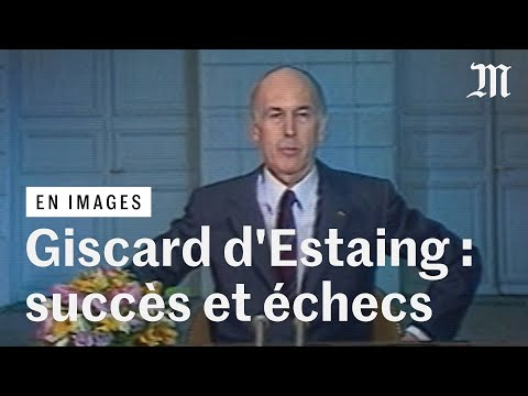 Mort de Valéry Giscard d'Estaing : retour sur sa carrière en images Mort de Valéry Giscard d'Estaing : retour sur sa carrière en images