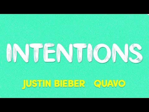 JustinBieber - Intentions (ft.Quavo) (Lyrics)