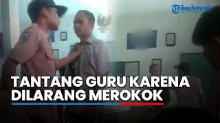 Video Siswa Teriaki dan Melawan Guru karena Ditegur saat Merokok, Dispendik Gresik Masih Menelusuri