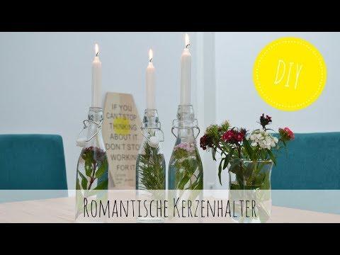 DIY – romantische Kerzenhalter selber machen