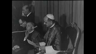 Pope Paul VI Opens Centro ELIS