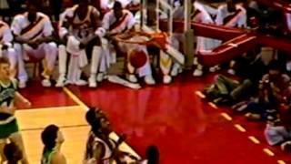 1986 Celtics Great Comeback vs Hawks (Bird vs Wilikins)