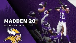 Minnesota Vikings Players Guess and React to Madden Ratings for 2019