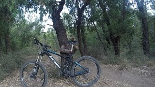 preview picture of video 'יער בן שמן - מסלול כחול !'