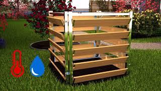 Häckseln und kompostieren...so geht das.