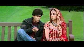Kabhi Alvida Naa Kehna - Shahrukh  Rani first Meeting on bench with Title Sad Song 2 - High Quality