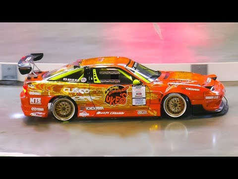 RC MODEL DRIFT CAR NISSAN 180SX IN DRIFT PERFORMANCE!! *RC CARS FAST AND FURIOUS STYLE