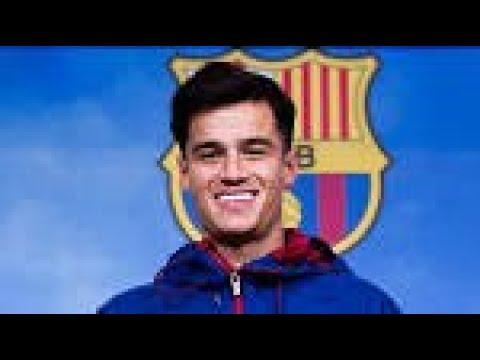 Coutinho welcome to Barcelona
