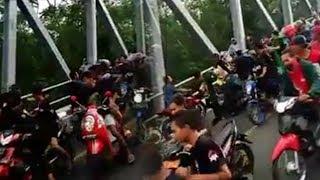 Viral Video Pengeroyokan Dua Remaja di Jembatan Ngujang 2 Tulungagung, Korban Lapor Polisi