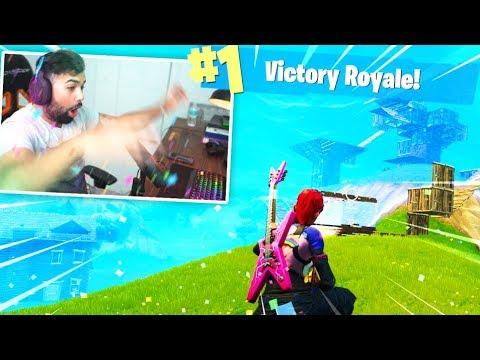 My First Victory Royale on PC FORTNITE..
