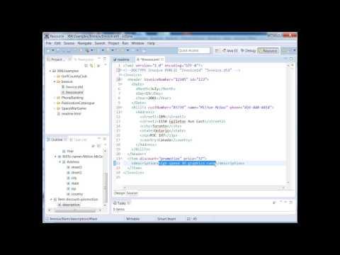XML Training Courses - How to Use XML DTD Validation Using ...