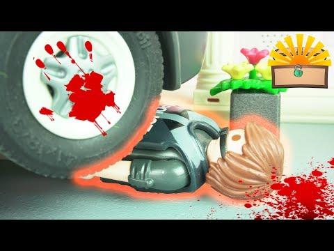 ROBIN IST TOT! Notarzt Einsatz! Playmobil Film deutsch - FAMILIE BERGMANN