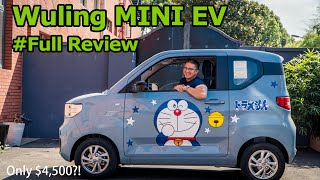 How Much Electric Car Can You Really Get for $4,500?: Wuling MINI EV