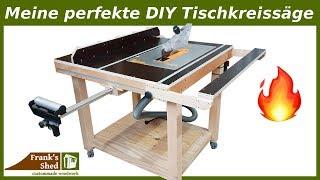 Meine Perfekte DIY Tischkreissäge 🔥 Werkstatt Einrichten & Selber Bauen | Bauanleitung