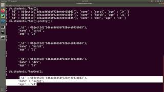 MongoDB Tutorial 5 : Query Documents From Collections In MongoDB Database