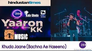 KK - LIVE | Khuda Jaane (Bachna Ae Haseeno) | HTKGAF18 | MUSIC |  Zee presents KK Music Concert