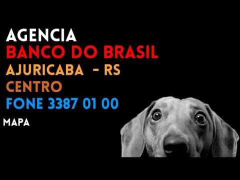 ✔ Agência BANCO DO BRASIL em AJURICABA/RS CENTRO - Contato e endereço
