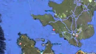 TITANIC --Google Earth Location of TITANIC(The Grave of the Titanic).flv