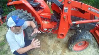 LS XJ2025 Tractor - backhoe dolly - build explained - hmong