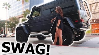 Picked Up a G-Wagon *Better than Logan Paul*