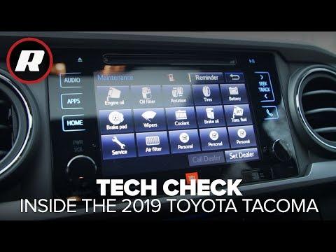 Tech Check: 2019 Toyota Tacoma TRD Sport
