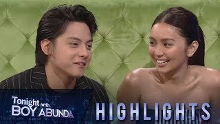 TWBA: Daniel's version of their first kiss