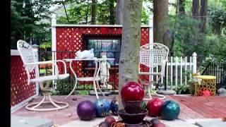 Bowling Ball Ideas For Your Garden - DIY