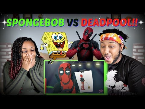 "Verbalase ""Spongebob vs Deadpool"" Cartoon Beatbox Battles REACTION!!"