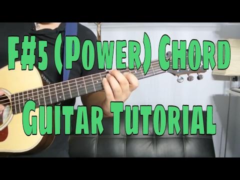 How to Play a F Sharp Power Chord (Chord Guitar Tutorial!!)