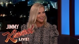 Charlize Theron Kissed Guillermo at His Son's Soccer Game
