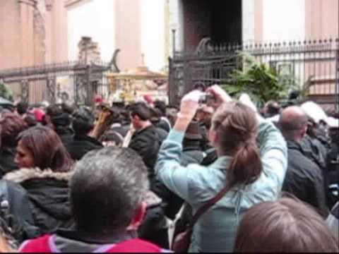 PALERMO -  scorcio su processione del Venerd� Santo 2009