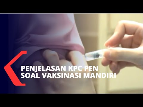 Vaksinasi Corona Mandiri Diizinkan, Ini Penjelasan KPC PEN