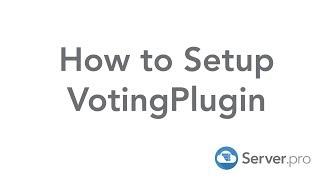 How to Setup VotingPlugin - Minecraft Java