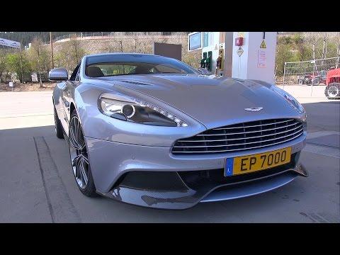 Aston Martin Vanquish - Start Up & Revs