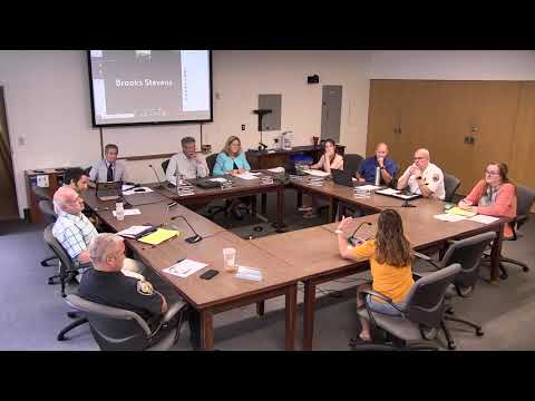 7.22.21 PARKING & TRAFFIC SAFETY COMMITTEE SPECIAL MEETING