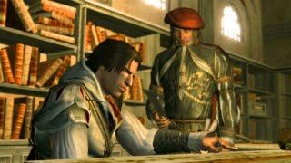 Pranker Leonardo da Vinci Wants to Cut off Ezio's Finger (Assassin's Creed 2 | Hidden Blade)