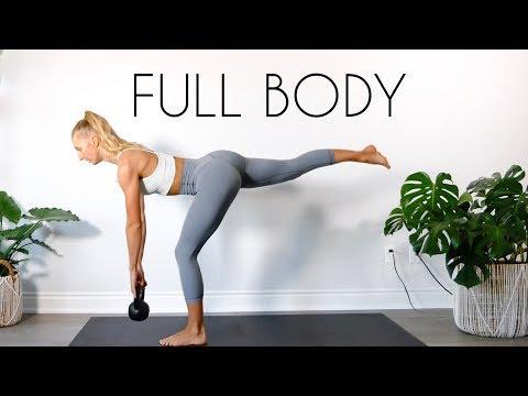 15 minutter full body Kettlebell-trening